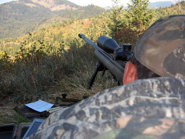 long range hunting ambush