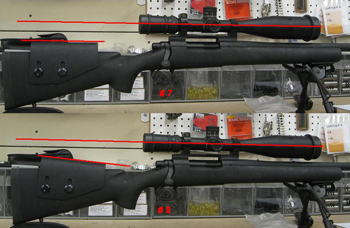 Fitting The Long Range Rifle