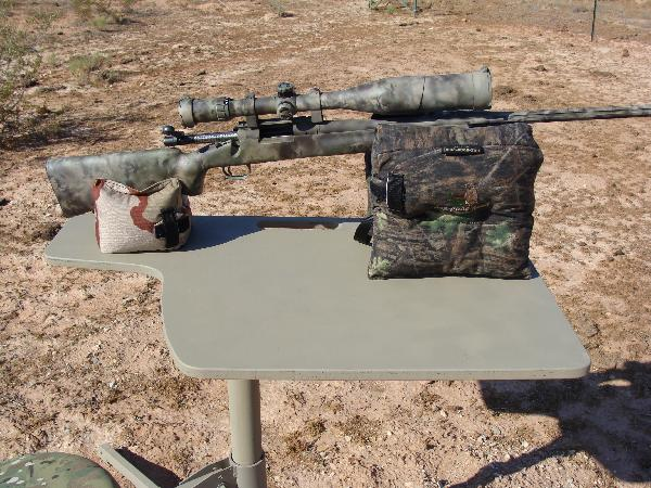 D O A Tactical Portable Shooting Bench