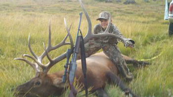 12 Year Old Bags 6X6 Bull Elk