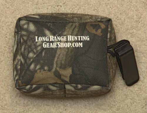 rear shooting bag