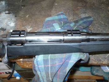 Bedding A Rifle