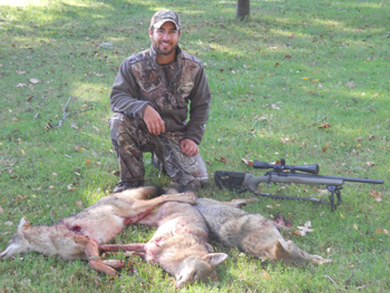 Scouting = Coyote Hunting Success