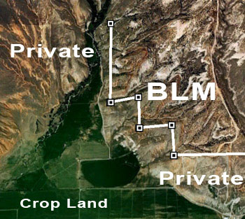 Google Earth And GPS Based BLM Maps For Hunt Planning