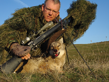 Pass Shooting Coyotes