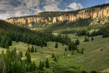 Wyoming�s Big Horn Mountains � The Outdoorsman�s Family Resort